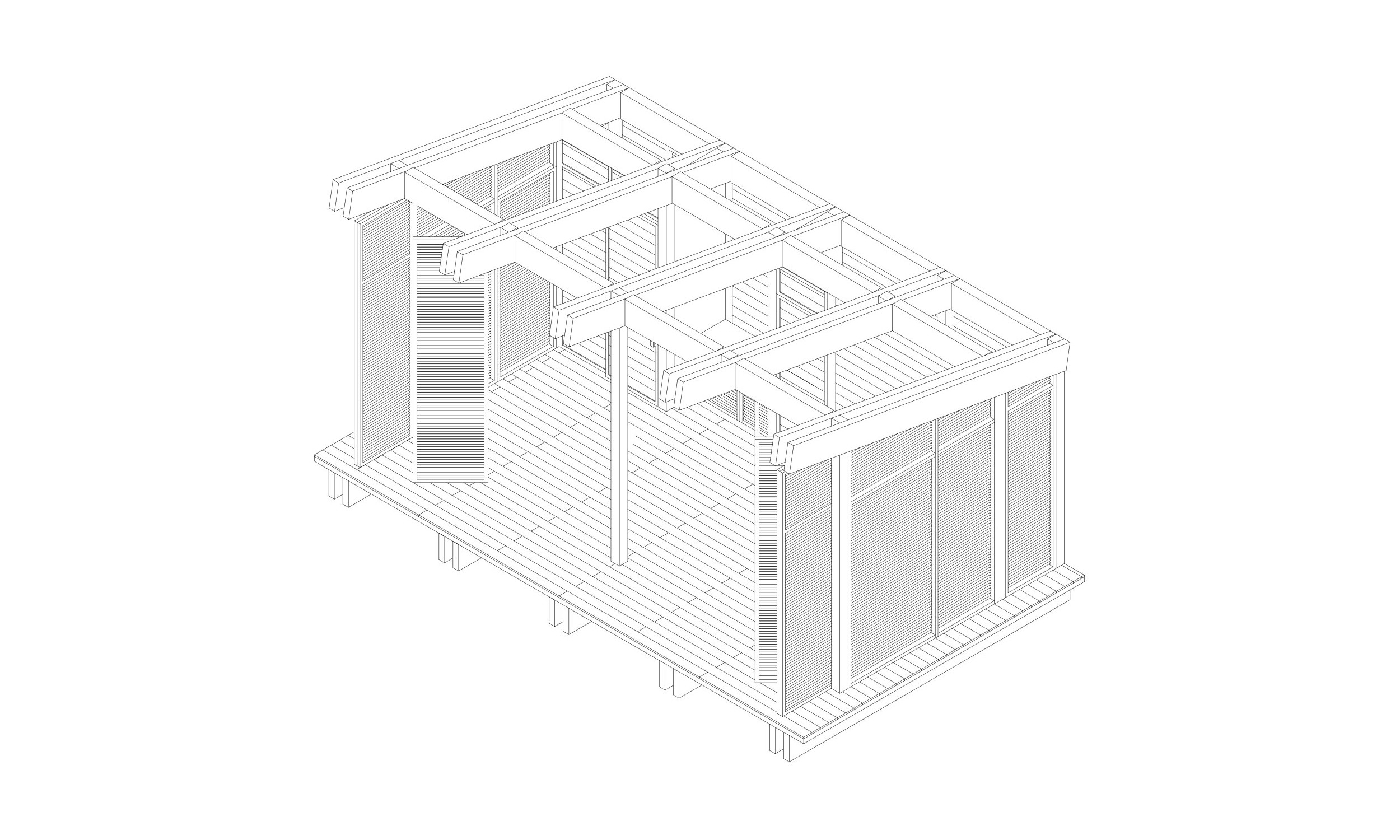 main_office_wooden_cabins_axonometry_1