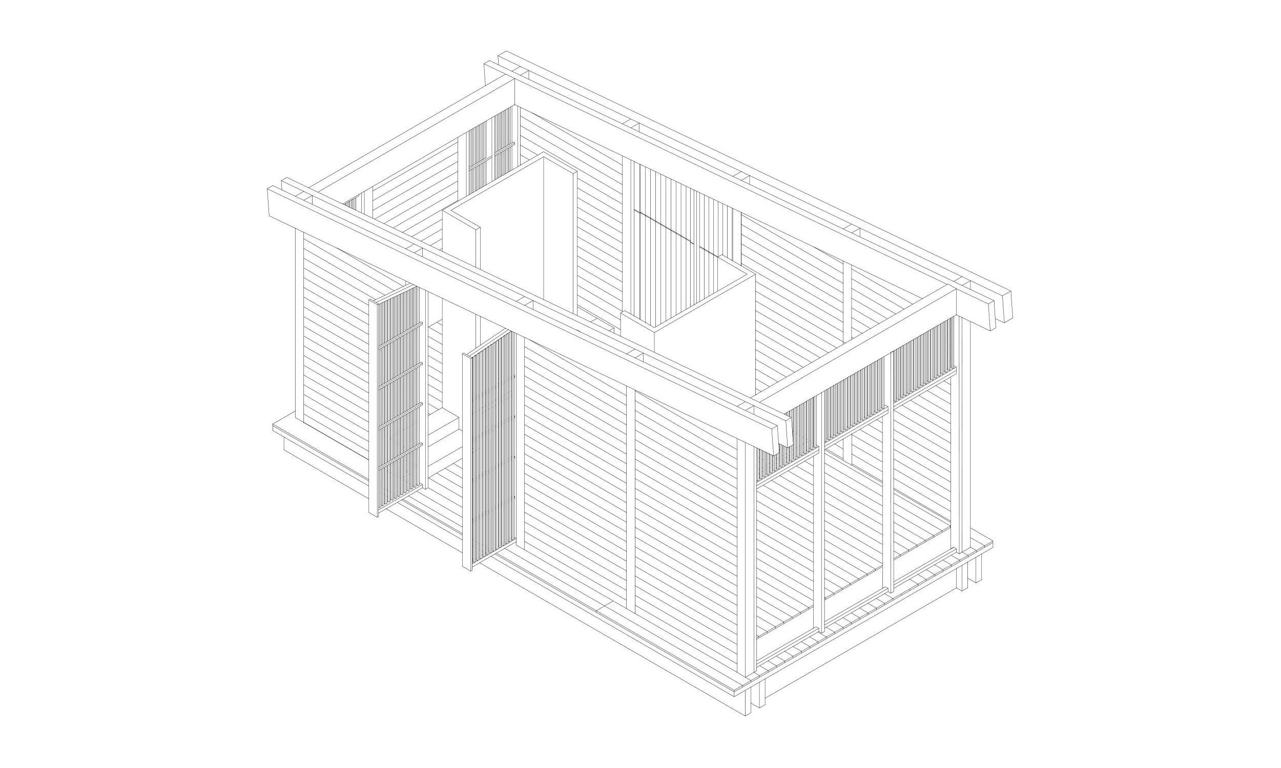 main_office_wooden_cabins_axonometry_2