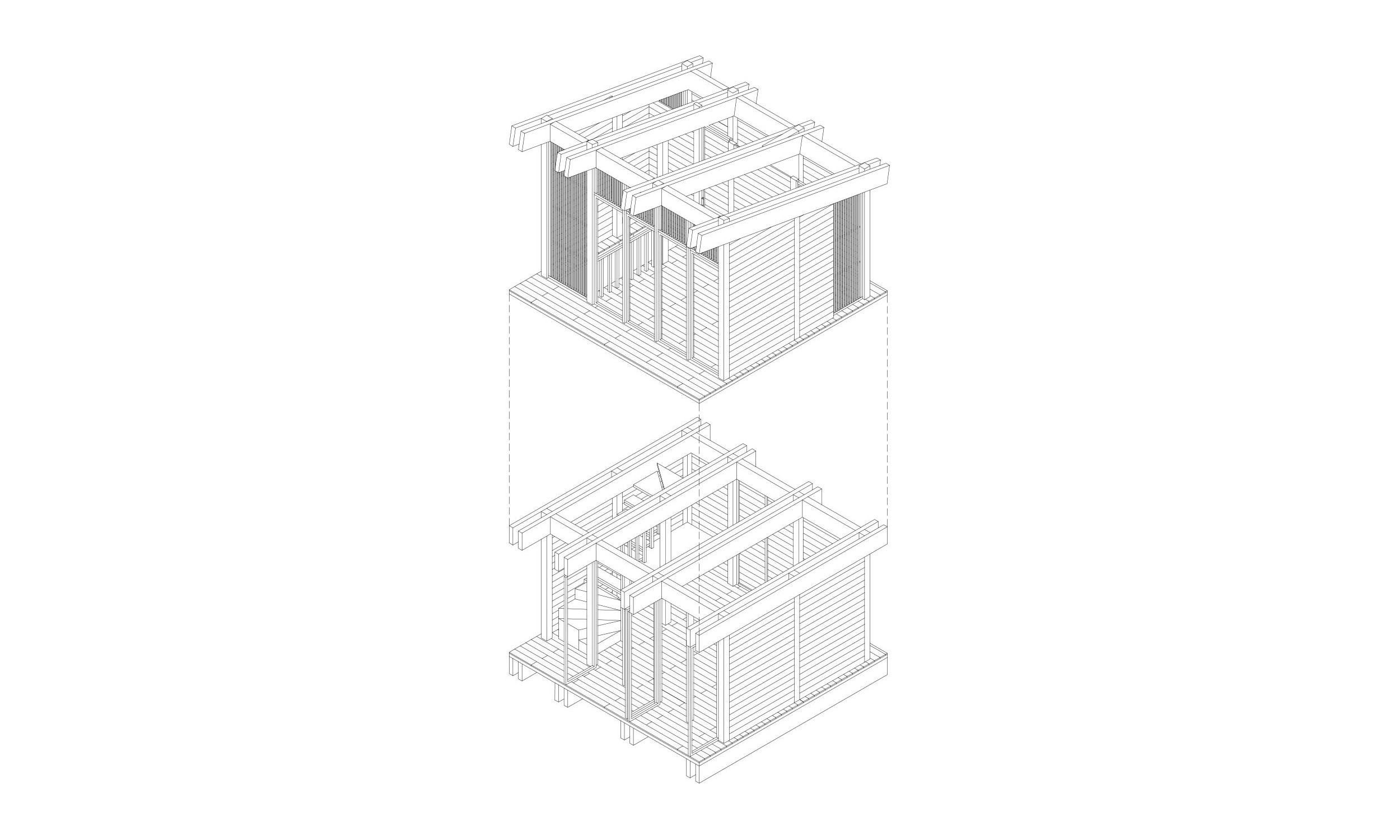 main_office_wooden_cabins_axonometry_3
