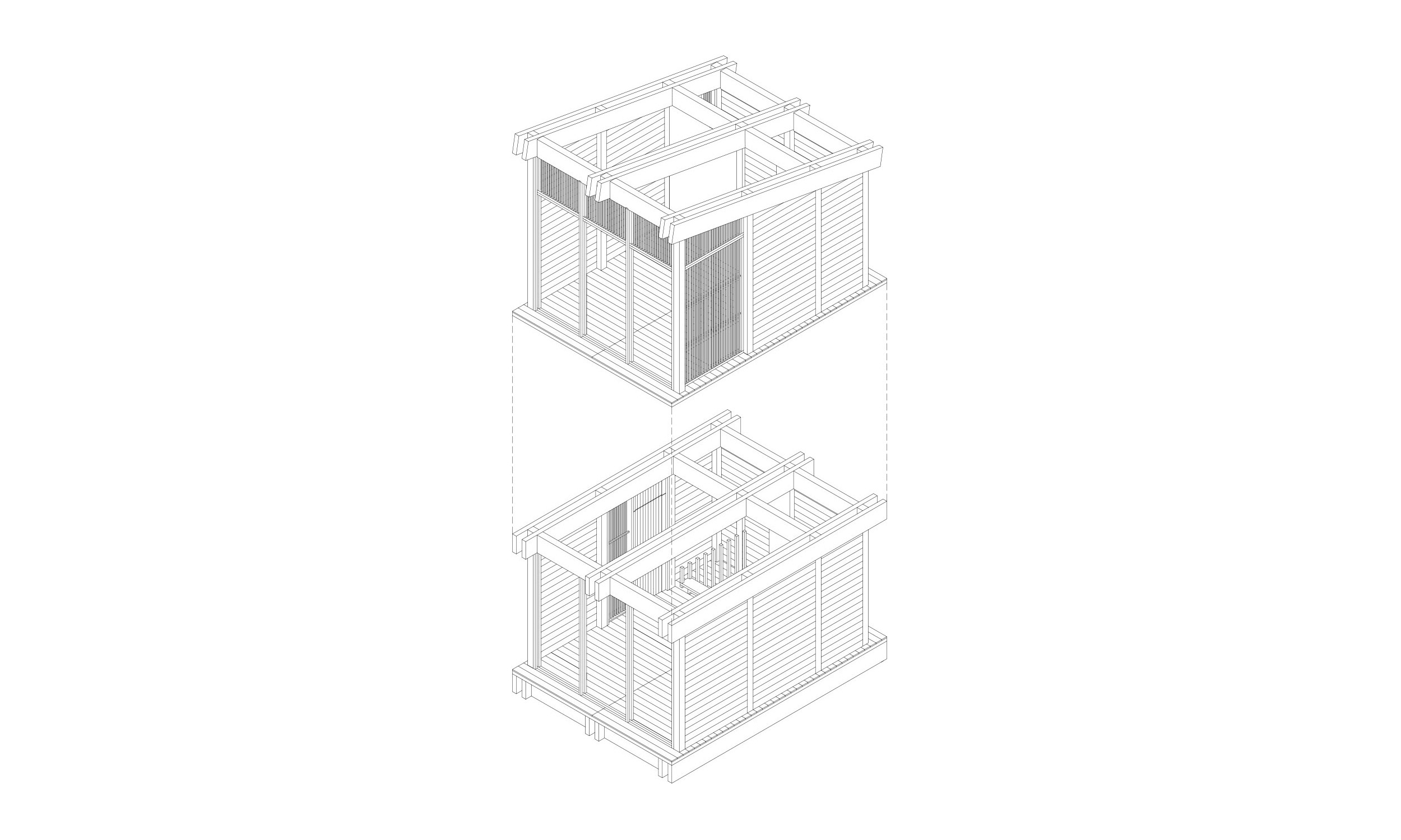 main_office_wooden_cabins_axonometry_4