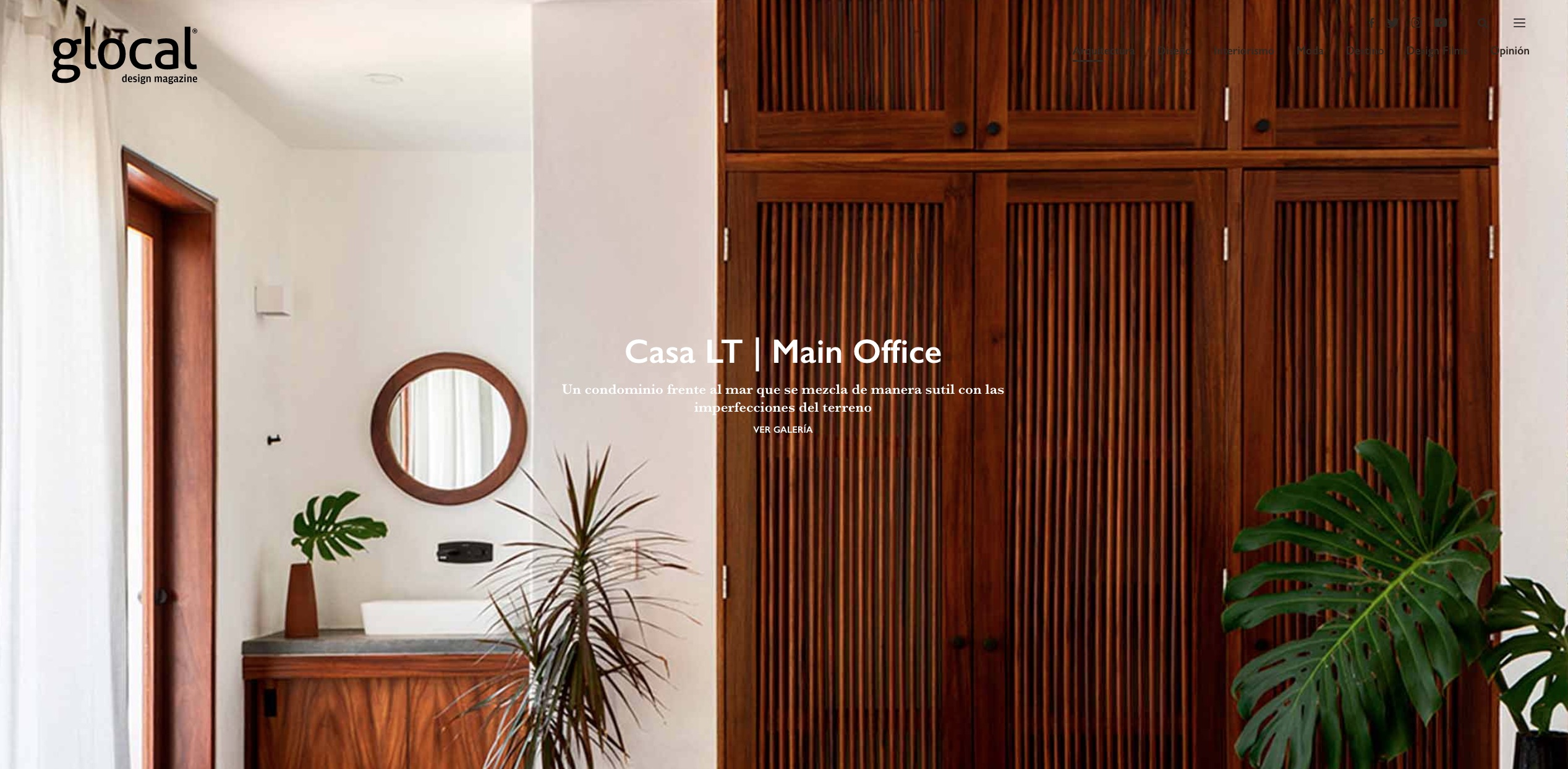 glocal design magazine article about Main Office project Casa Linda Theresia LT